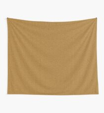Gold Knitted Pattern ) Wall Tapestry