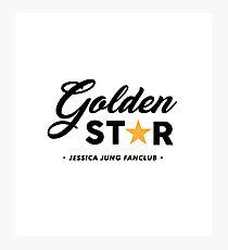 JESSICA JUNG_Golden Star Photographic Print