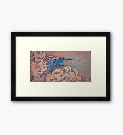 The Aerialist Framed Print