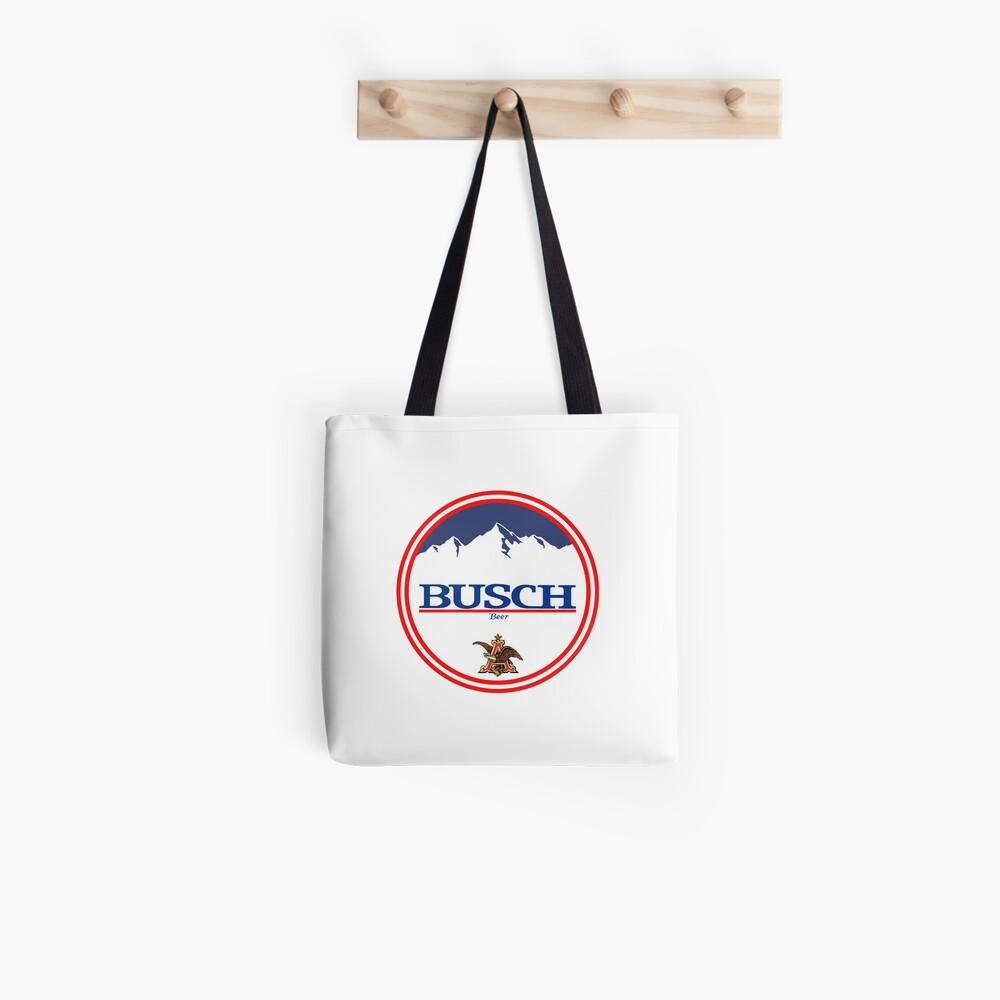 Buschlicht, Buschlicht, Busch, Bier, Getränk, Berg, Kneipe, Logo, Symbol. Tote Bag