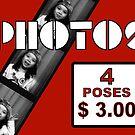 1990's Photobooth Display by kayve