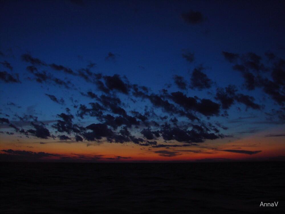 Lake Erie Sunset by AnnaV