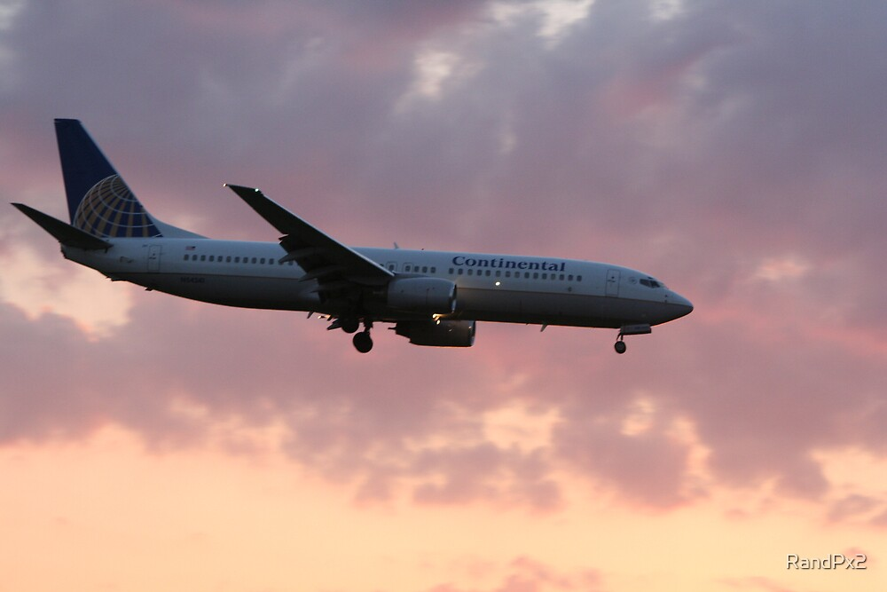 Plane coming in for a landing by RandPx2