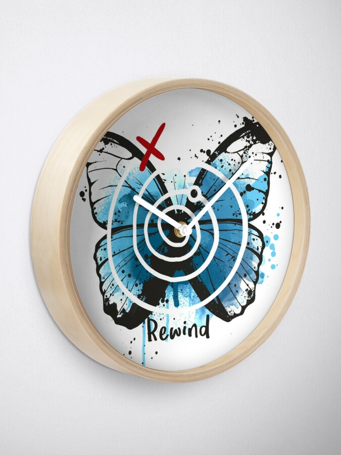 Alternate view of rewind life is strange Clock