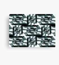 Abstract Rectangle Pattern Canvas Print