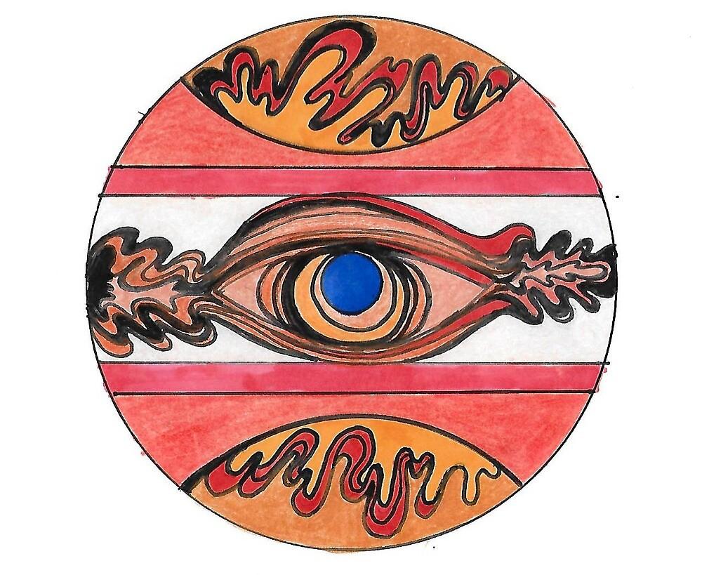 Eye on Fire by kalikristine