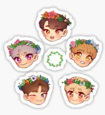 Flower KNK Sticker