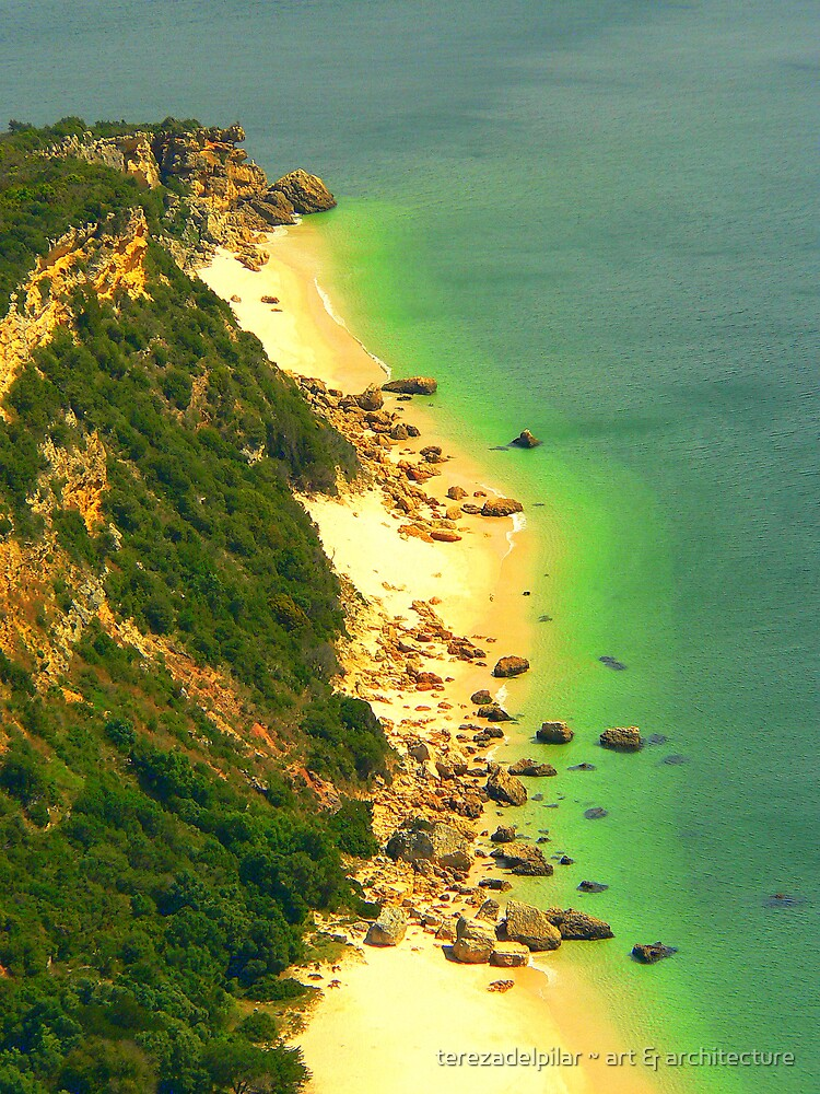 Beach cliffs by terezadelpilar ~ art & architecture