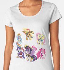 my little pony pirate ponies Women's Premium T-Shirt