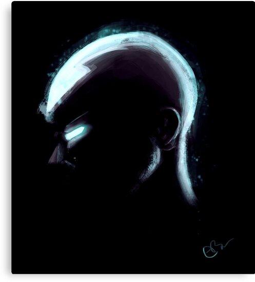 "Movie Avatar State Aang: ""Aang In Avatar State"" Canvas Prints By EilidhBrownie"