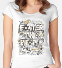 Foster the People Women's Fitted Scoop T-Shirt