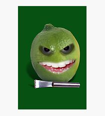 Beware the Lime with the Lemon Zester Photographic Print