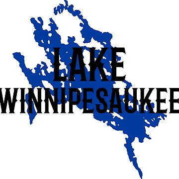 Lake Winnipesaukee Tee Shirt by HoodieWoodie