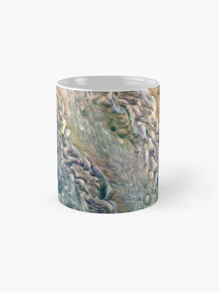 Alternate view of Jupiter On Juno Perijove 8 Mug