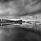 Clouds over Goese Sas. by VanOostrum
