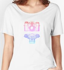 Vintage Photography - Contarex (Multi-colour) Women's Relaxed Fit T-Shirt