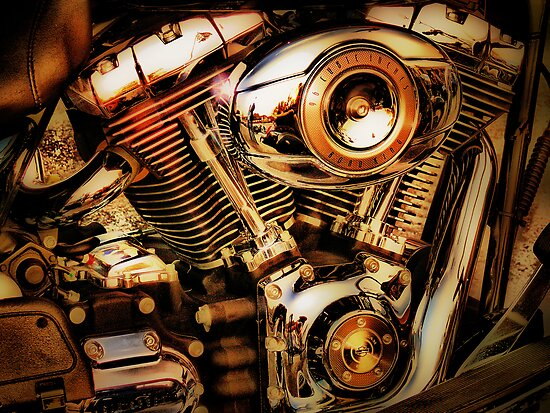 Quot Harley Davidson Engine Quot Posters By A90six Redbubble