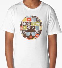 Robots on buttons Long T-Shirt