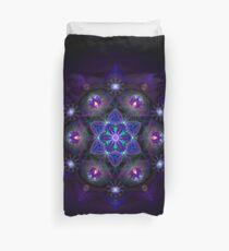 Flower Of Life Mandala Duvet Cover