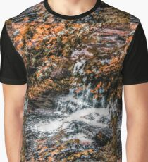 The Factory Falls in Autumn, Child's National Park Graphic T-Shirt