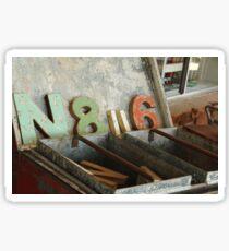 N 8 ii 6 Sticker