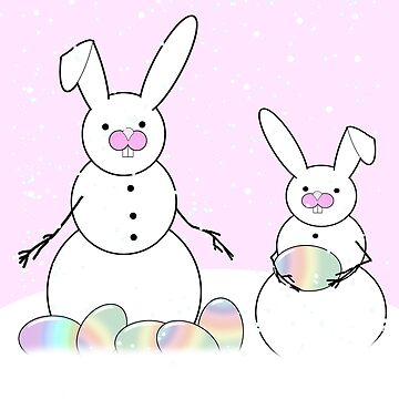 Easter Snow Bunnies by Gravityx9