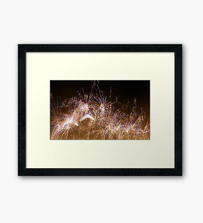 Fireworks #3 Framed Print