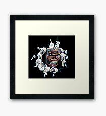 EDDIE- MAIDEN Framed Print