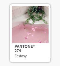 Pantone Ecstasy Sticker