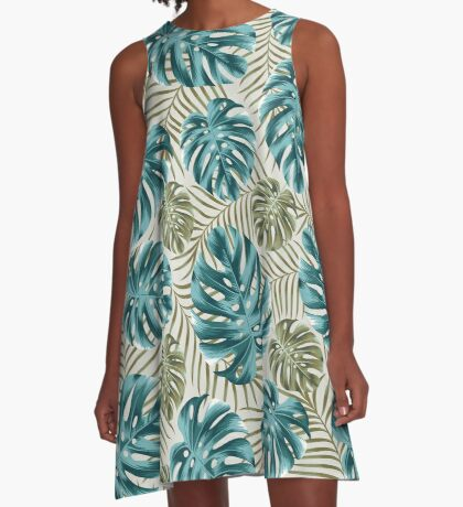 Undiscovered tropics #3 A-Line Dress
