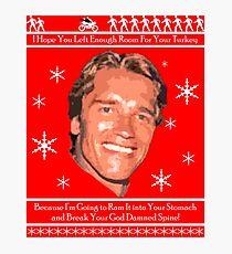 Arnold Christmas Photographic Print