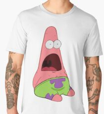 Surprised Patrick Men's Premium T-Shirt