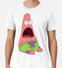 Überrascht Patrick Männer Premium T-Shirts