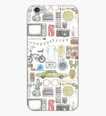 STRANGER THINGS object illustration barb glasses quote eggs 011 upside down demogorgon eleven iPhone Case