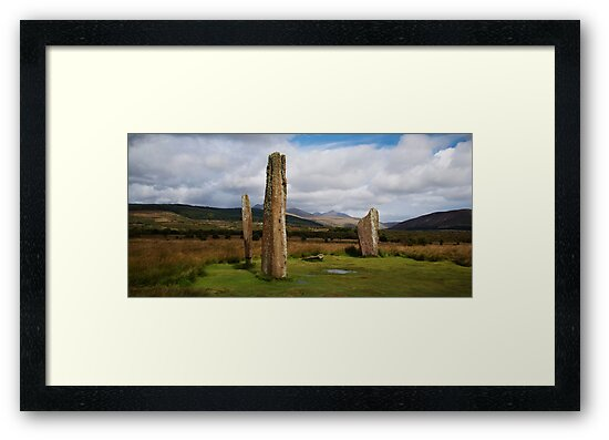 Stones at Machrie by Doug Cook