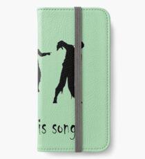 Dancing Zombies  iPhone Wallet/Case/Skin