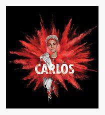 Carlos in Smoke Photographic Print