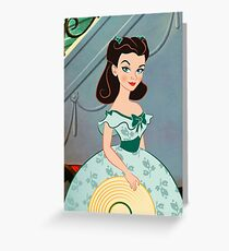 Princess Scarlett Greeting Card