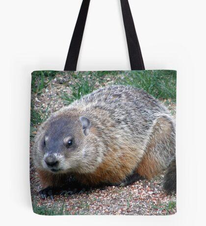 Chuck, the Groundhog Tote Bag