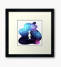 a space wanderer Framed Print