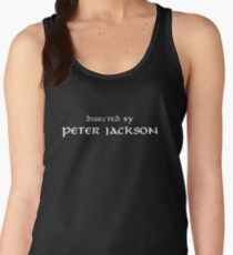 The Lord of the Rings   Directed by Peter Jackson Women's Tank Top