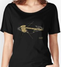 Cassini Weathered Women's Relaxed Fit T-Shirt