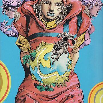 Johnny joestar , dio , gyro  by animemangaking