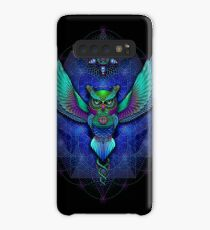 Sacred Geometry Owl Case/Skin for Samsung Galaxy