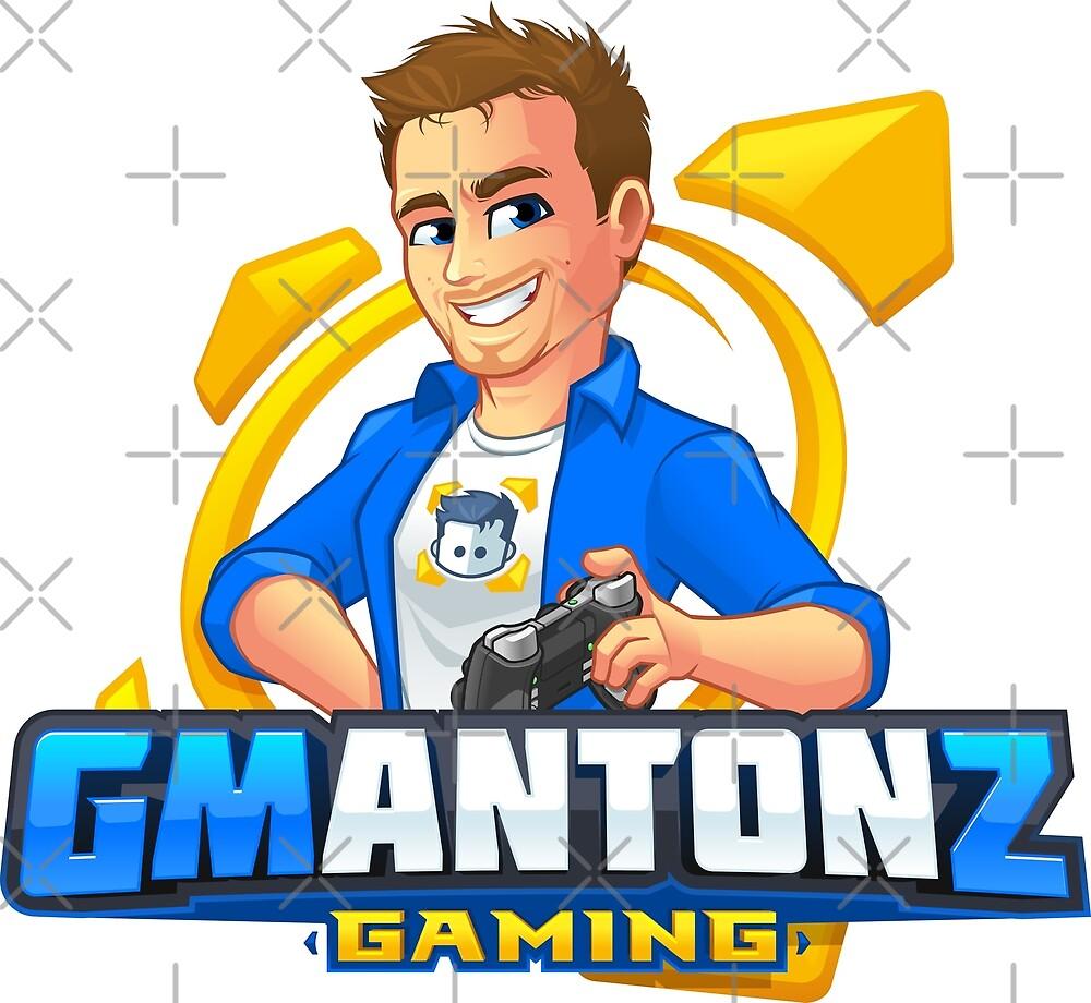 GMAntonZ - Character Logo Merch by GMAntonZ
