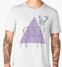 Geometric Deer Men's Premium T-Shirt