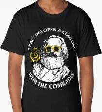 Crack Open A Cold One With The Comrades Long T-Shirt