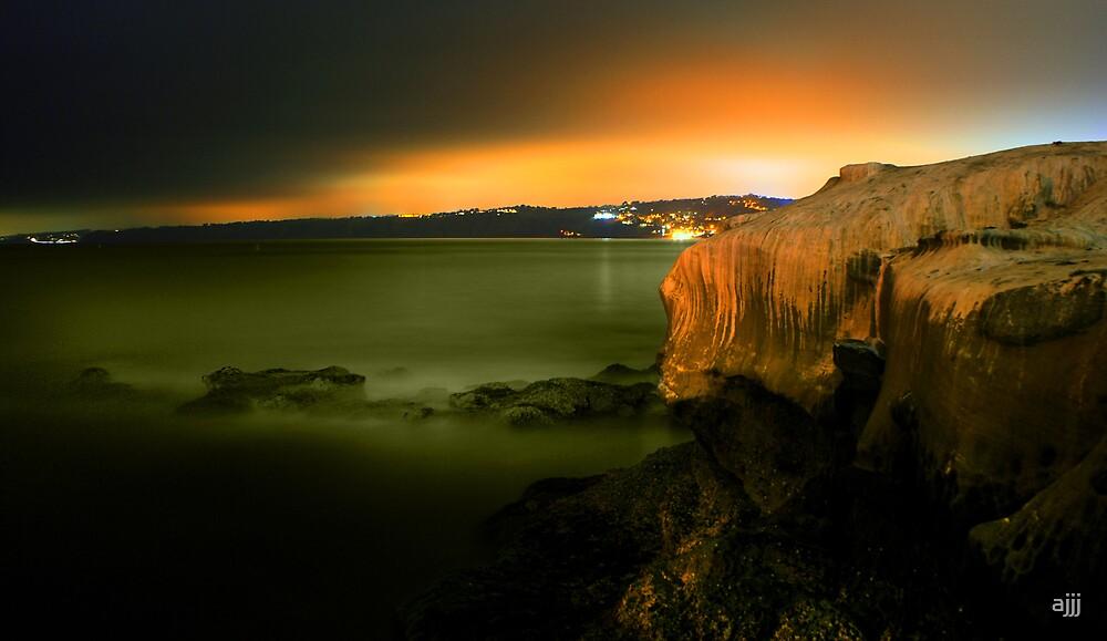 Rocky Cliff by ajjj