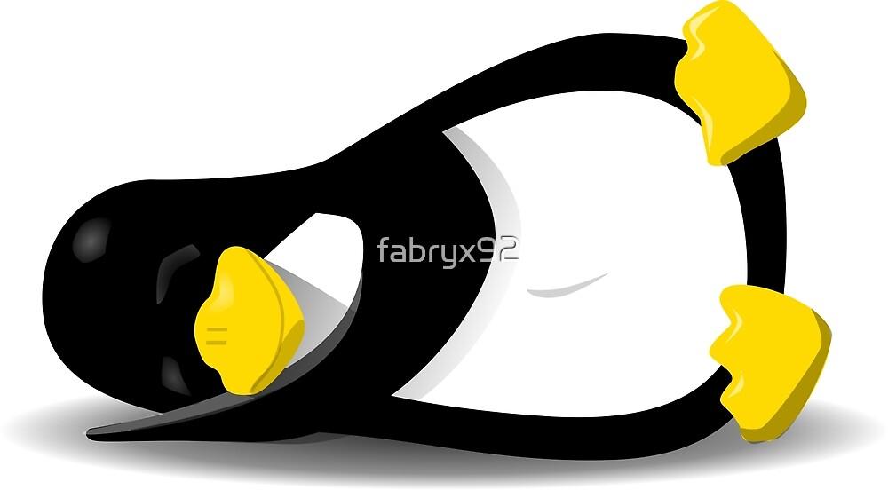 Sleeping Penguin by fabryx92