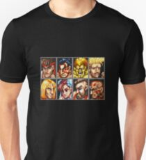 Street Fighter 2 Character Select Screen T-Shirt